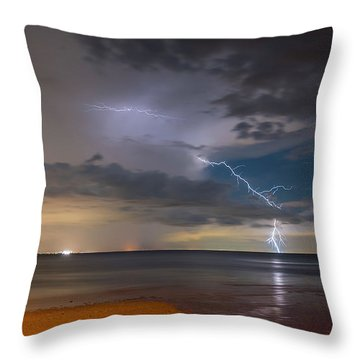 Storm Tension Throw Pillow