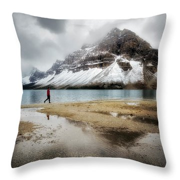 Storm Tracker Throw Pillow