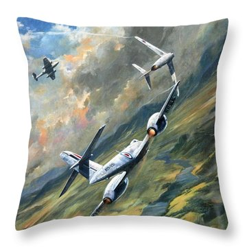 'storm Warning' Throw Pillow by Colin Parker
