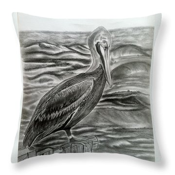 Storm Watcher Throw Pillow