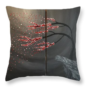 Storm Wind Throw Pillow