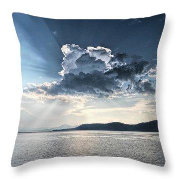 Stormlight Throw Pillow