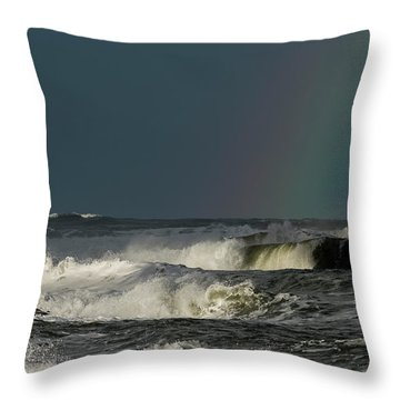 Stormlight Seaside Cove Throw Pillow