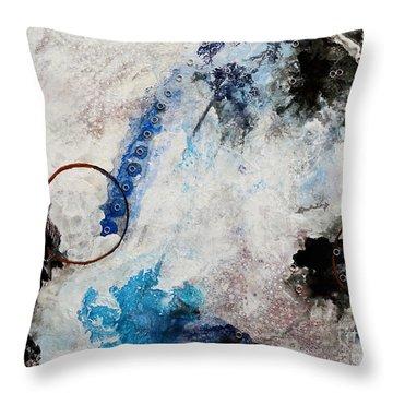 Stormy Bird Throw Pillow