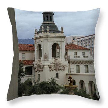 Throw Pillow featuring the photograph Stormy Day by Robert Hebert