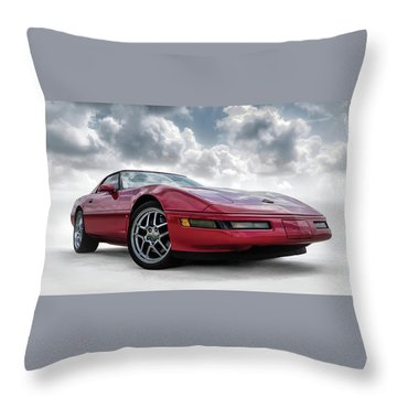 Chevrolet Corvette Throw Pillows