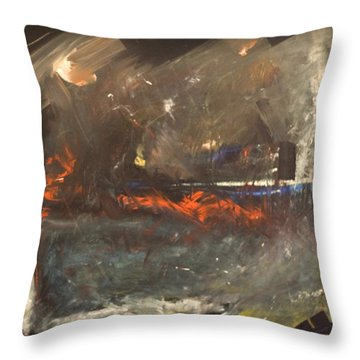 Stormy Monday Throw Pillow by Tim Nyberg