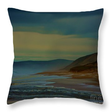 Stormy Morning Throw Pillow by Blair Stuart