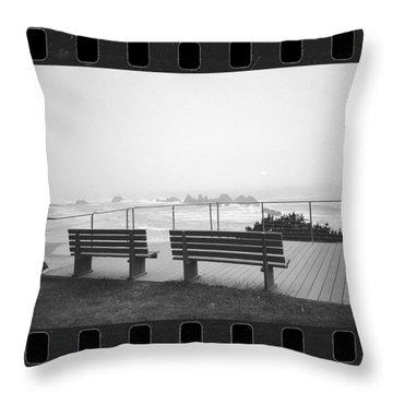 Stormy Overlook Throw Pillow