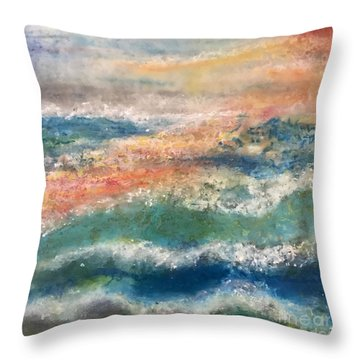 Laguna Sunset Throw Pillow