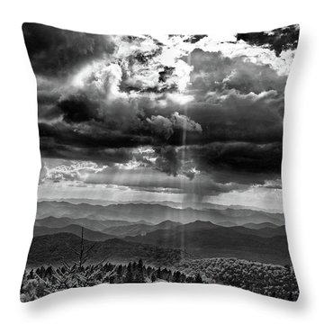 Stormy Sky Throw Pillow