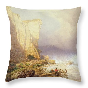Stormy Weather Throw Pillow by John Mogford