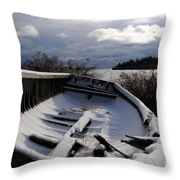 Stormy Weather Throw Pillow by Sandra Updyke