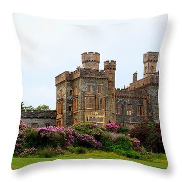 Throw Pillow featuring the photograph Stornoway Castle by Rasma Bertz