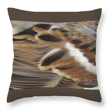 Throw Pillow featuring the photograph Birds Of A Feather  by Kristine Nora