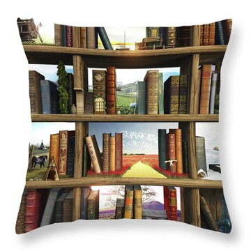 Storyworld Throw Pillow