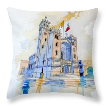 St.peter In Chains II Throw Pillow