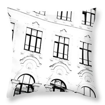 St.petersburg  #7804 Throw Pillow by Andrey Godyaykin