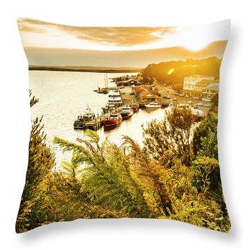 Strahan Sunset Throw Pillow