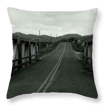 Straight Into The Storm Throw Pillow