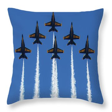 Straight Up Perfection Throw Pillow