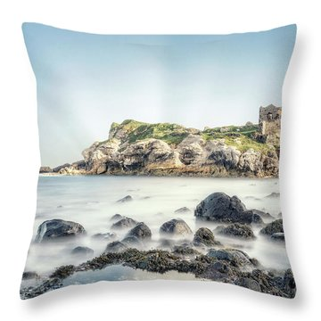 Stranded In Time Throw Pillow