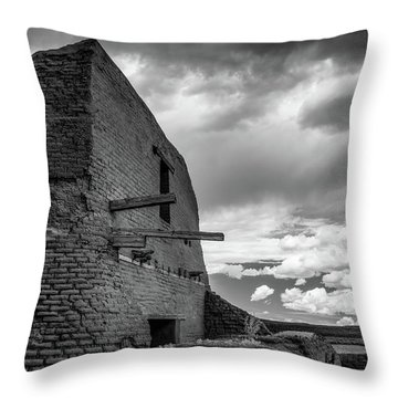 Throw Pillow featuring the photograph Strange Architecture by James Barber