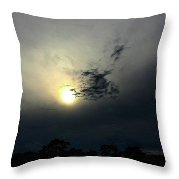 Strange Cloud Throw Pillow