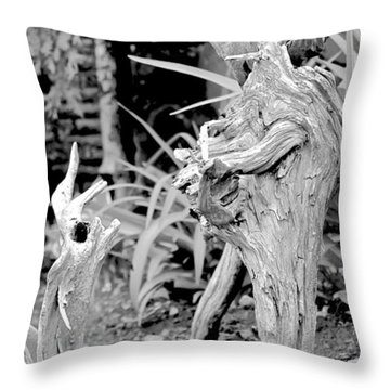 Strange Conversants Throw Pillow