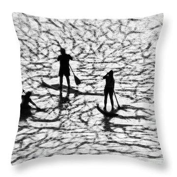 Strange Journey Throw Pillow