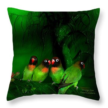 Strange Love Throw Pillow