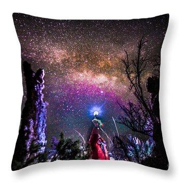 Stranger In A Strange Land Throw Pillow