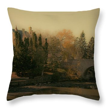 Stratford Courthouse Throw Pillow