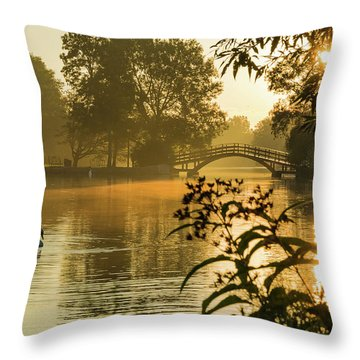Stratford Oasis Arena Throw Pillow