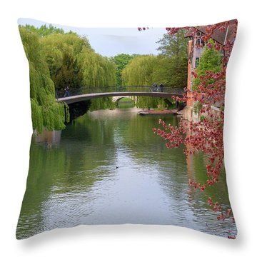 Stratford Upon Avon 6 Throw Pillow by Douglas Barnett