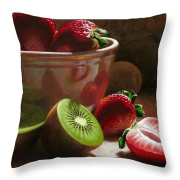 Strawberry Throw Pillows