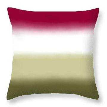 Strawberry - Sq Block Throw Pillow