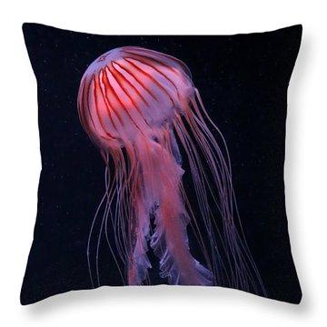 Strawberry Jelly Throw Pillow