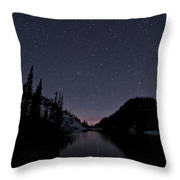 Strawberry Lake Throw Pillow