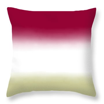 Strawberry - R Block Throw Pillow