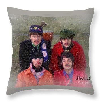 Strawberry Time Throw Pillow