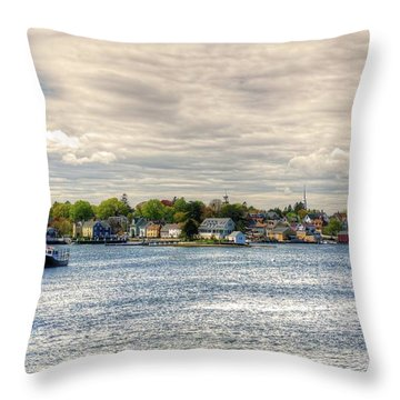 Strawbery Banke Throw Pillow