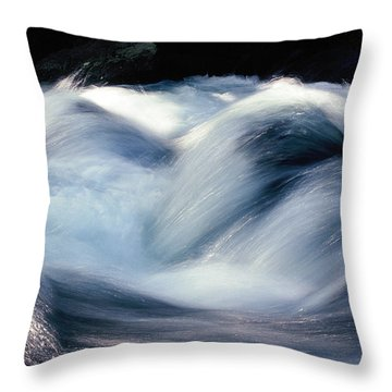Throw Pillow featuring the photograph Stream 1 by Dubi Roman