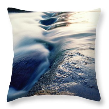 Throw Pillow featuring the photograph Stream 4 by Dubi Roman