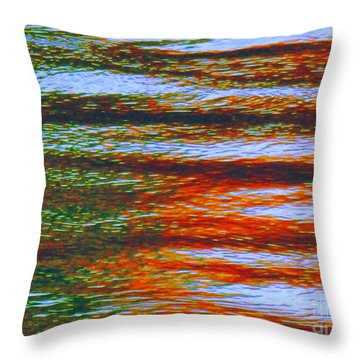 Streaming Rays Of Love Throw Pillow