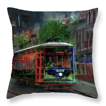 Street Car 905 Throw Pillow