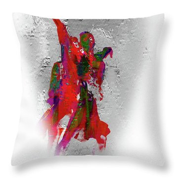 Street Dance 8 Throw Pillow