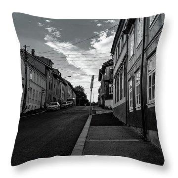 Street In Toyen Throw Pillow