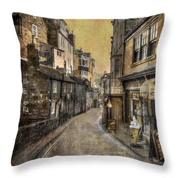 Street Of My Memory Throw Pillow