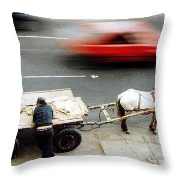 Dernier Throw Pillows